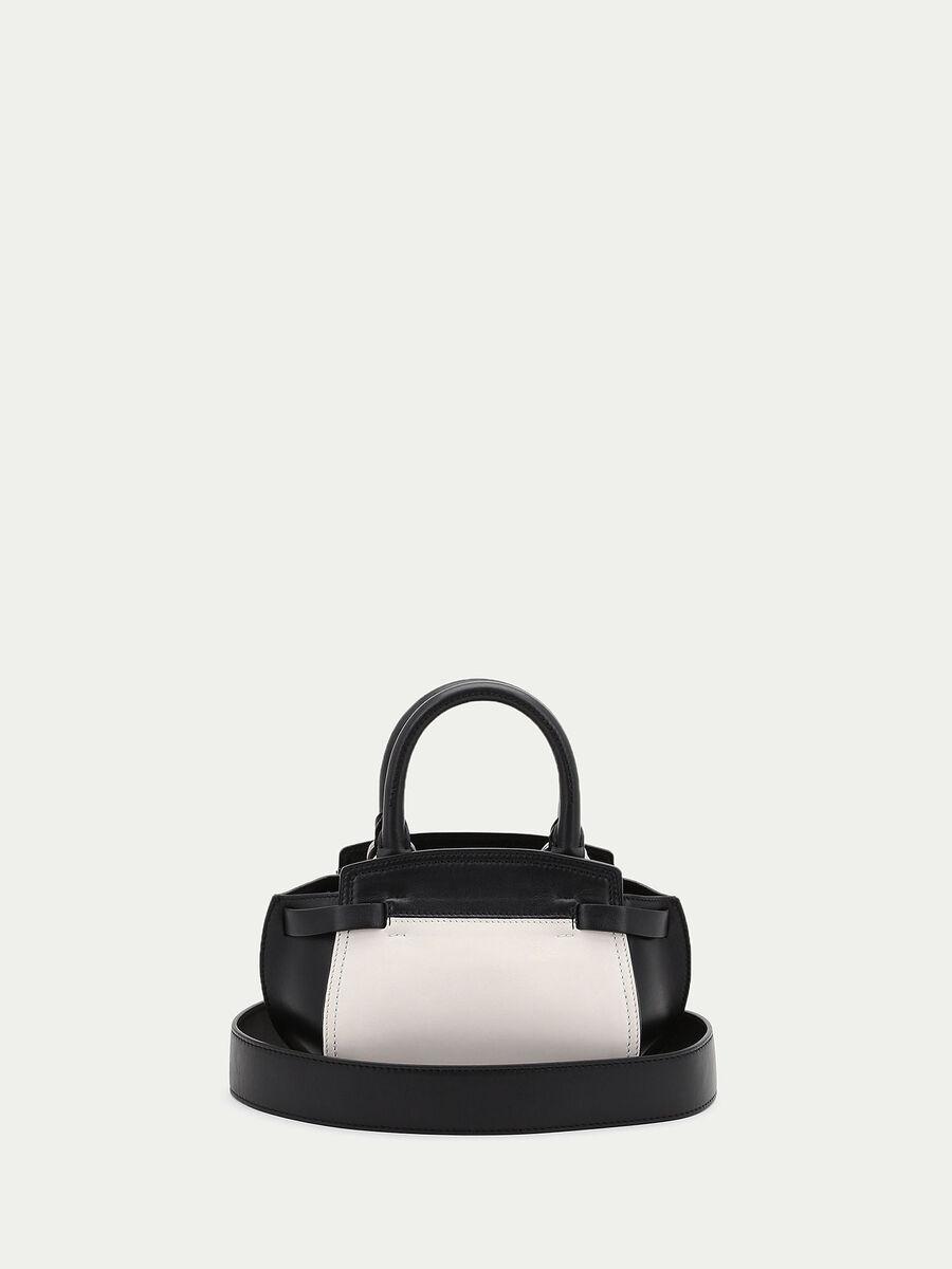 Mini Gita bag with colour blocking