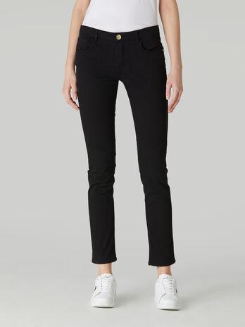 Regular-fit gabardine 260 trousers