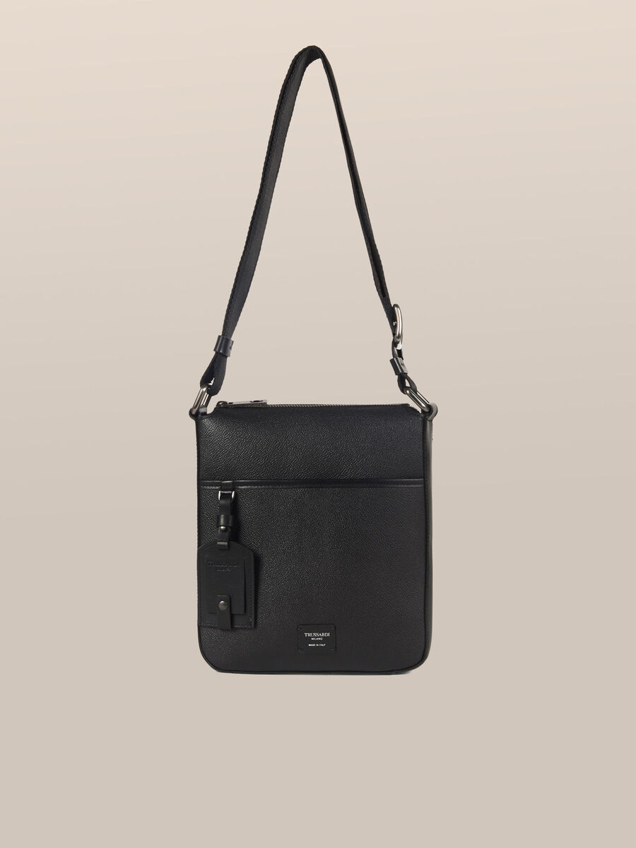 Small Business crossbody bag in Crespo leather