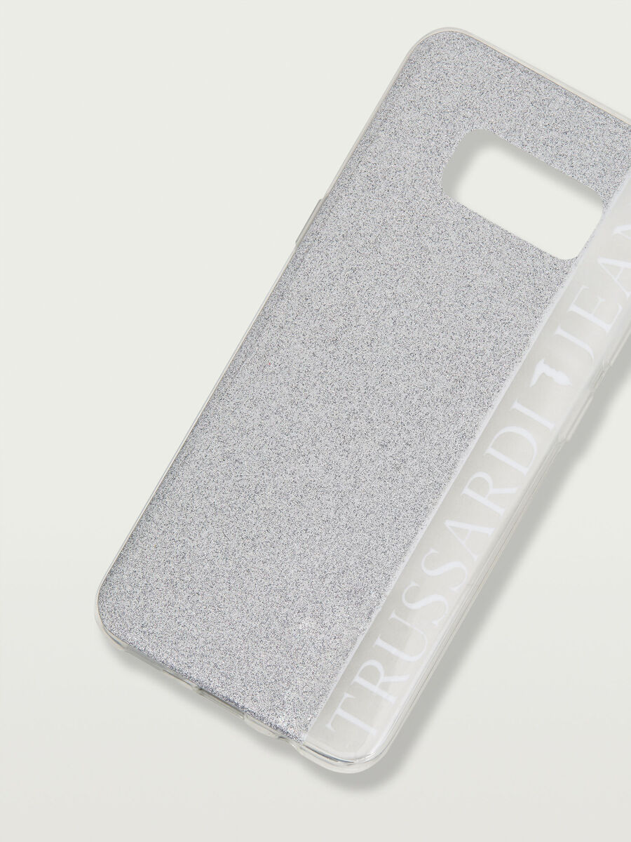 Cover Galaxy S8 morbida glitterata