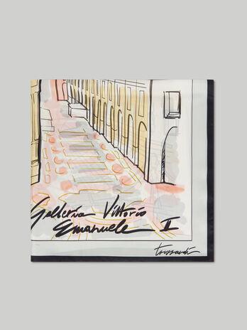 Fular de seda Galleria Vittorio Emanuele II