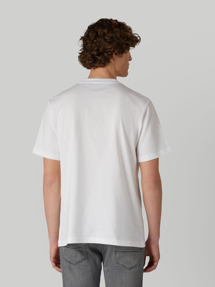 T-shirt over fit in jersey di cotone