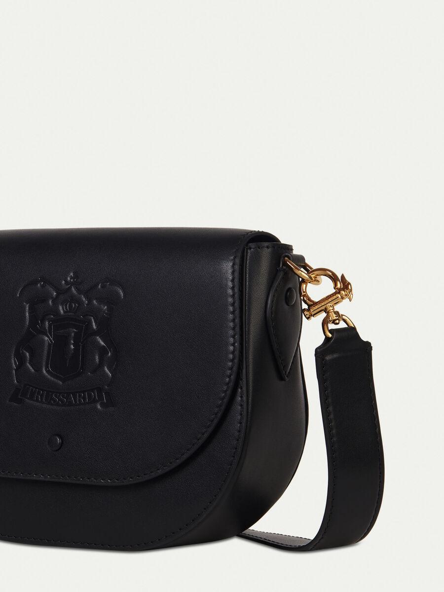 Medium leather shoulder bag