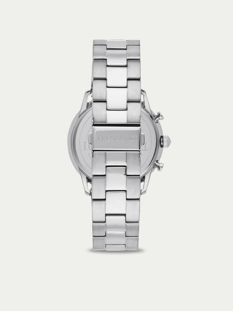 Uhr T World mit dunklem Ziffernblatt