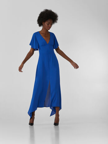 Long double Georgette dress