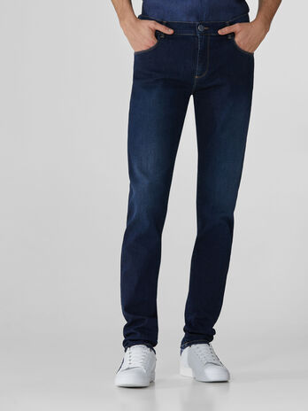 Jeans 370 Close in denim Cairo blu scuro