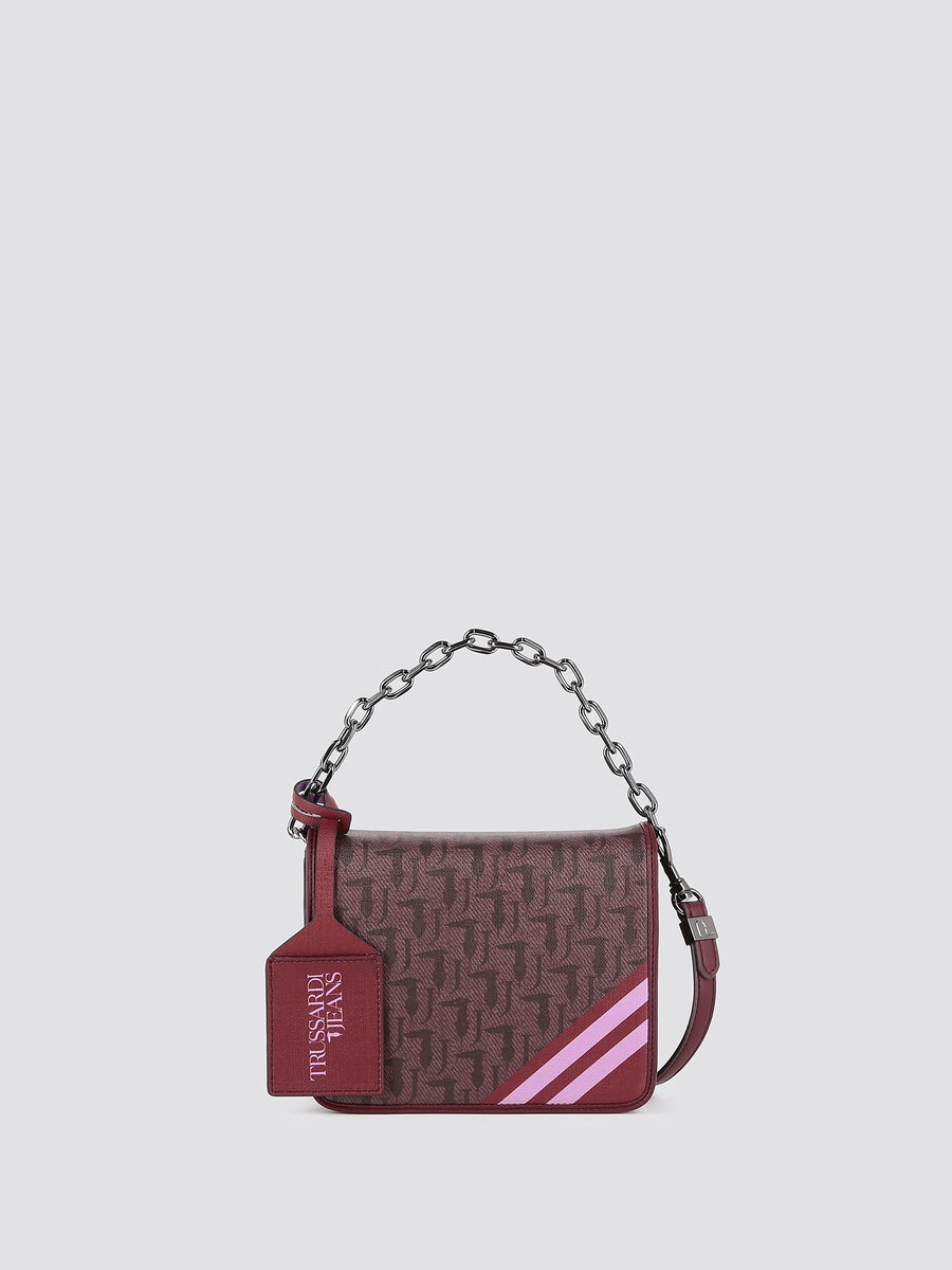 Mini Vaniglia shoulder bag with logo print