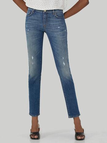 Regular-fit 260 jeans in vintage denim