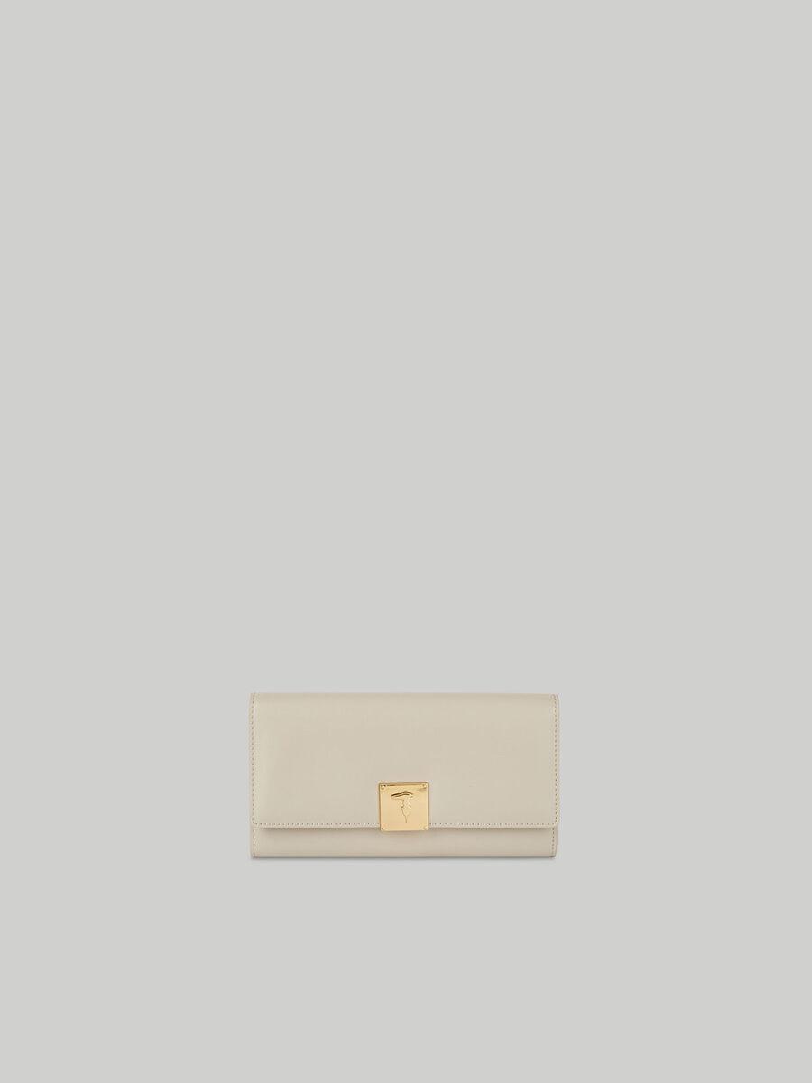 Large Lione continental purse