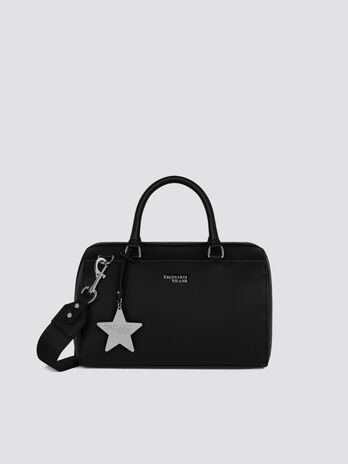 Medium T-Easy Star trunk bag in faux leather with logo