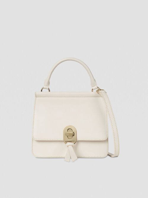 Sac crossbody Mya en similicuir lisse