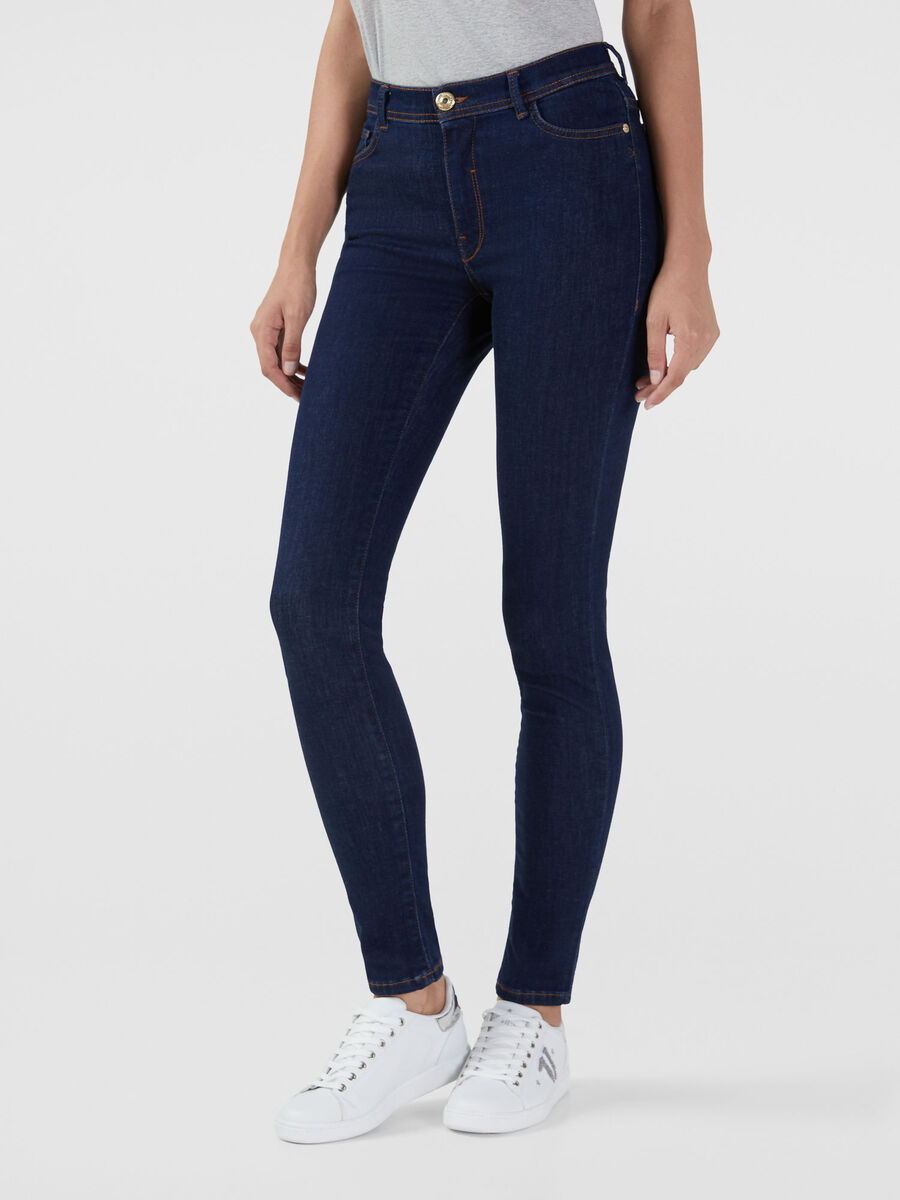 Skinny 105 jeans in stretchy Kate denim