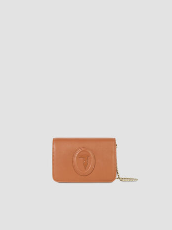 Smooth faux leather 1 clutch