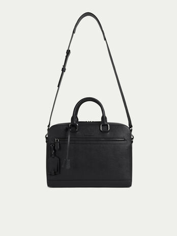 dfe85715a5 Borsa Business medium in pelle stampata saffiano