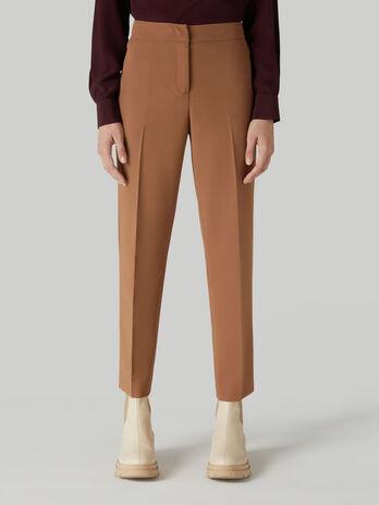 Pantalone a sigaretta in viscosa
