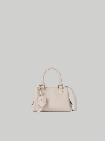 Tote bag Iris small in similpelle stampa cervo