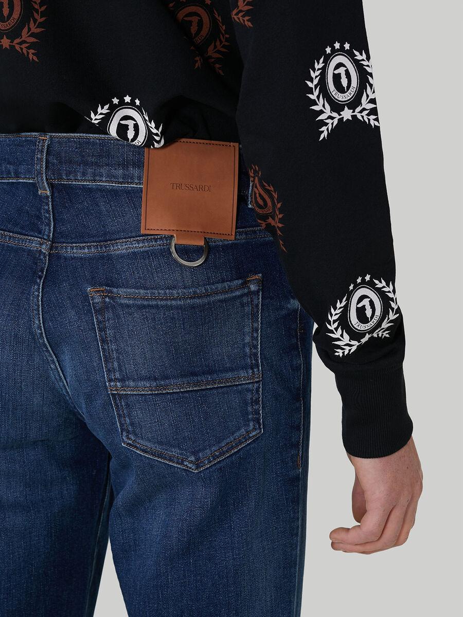 Slub denim Icon 380 jeans