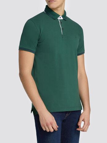 Poloshirt im Regular Fit aus Pikee