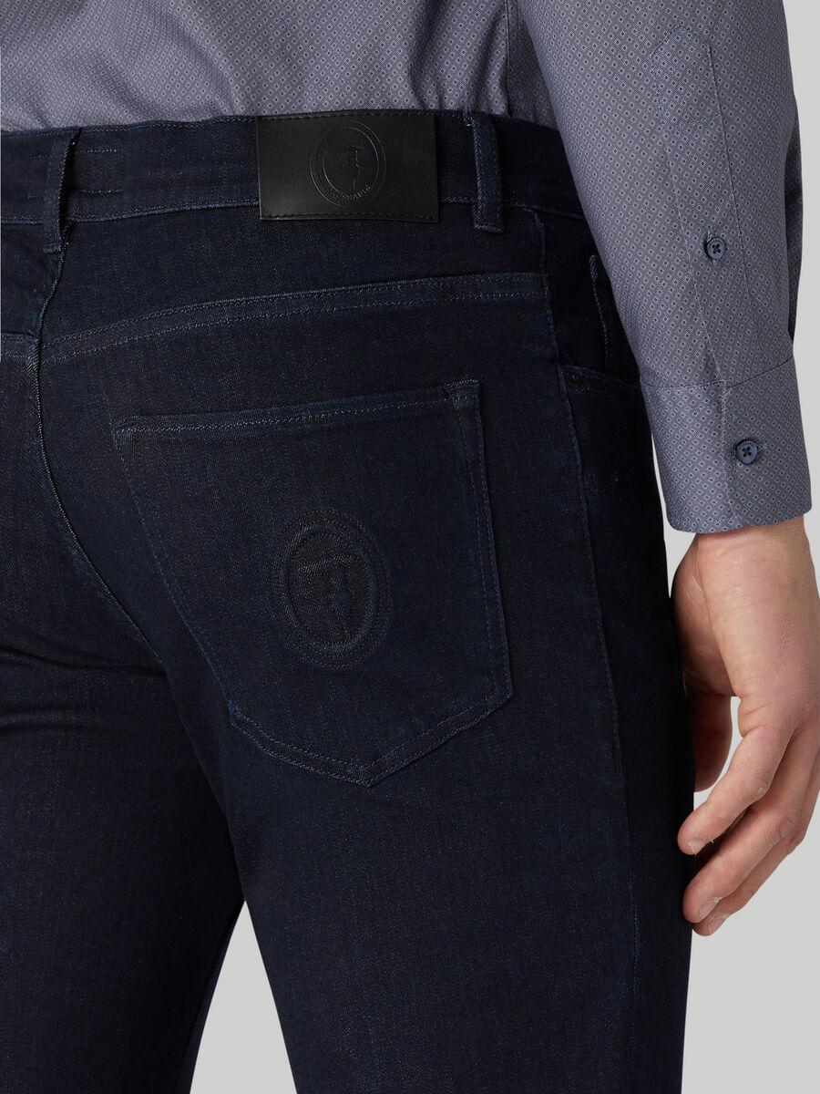 Icon 380 jeans in cotton denim