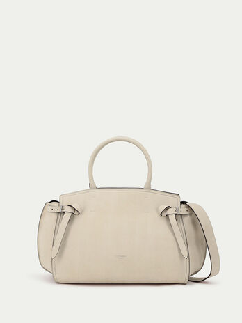 Maxi Gita bag in nubuck leather