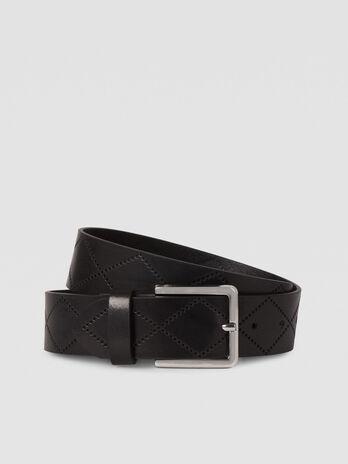 Cintura T-Easy in pelle trapuntata