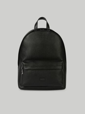 Medium leather Business backpack