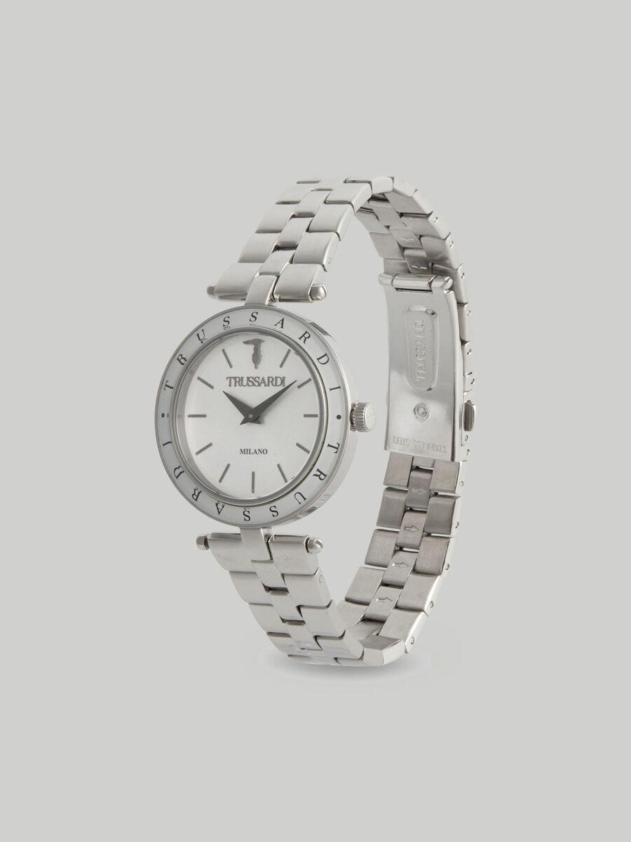 Montre T-Shiny 34MM a bracelet en acier