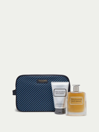 Mosaic toiletry set with fragrance and shampoo shower gel