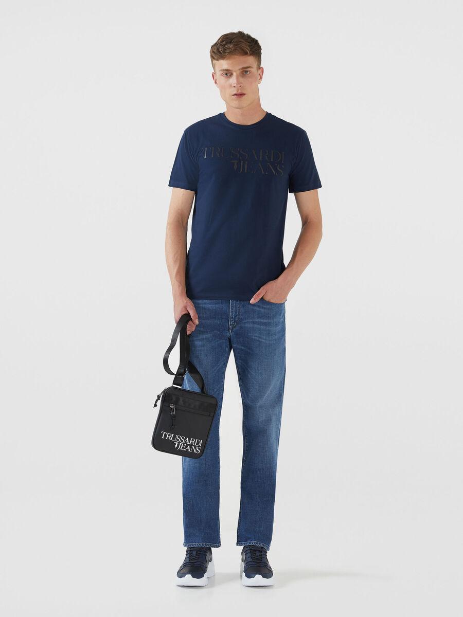 Jeans 380 Icon aus blauem Selecia Denim