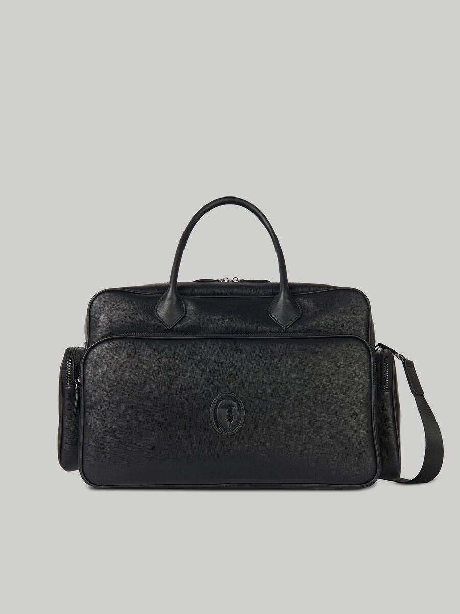 Large Urban carry-all in faux saffiano leather