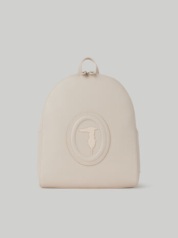 Medium Lisbona backpack with deerskin print