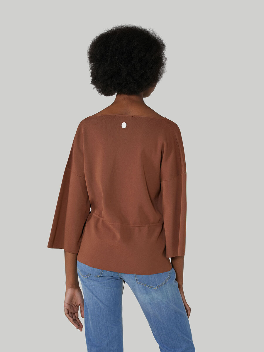 Cardigan zippe coupe classique en viscose
