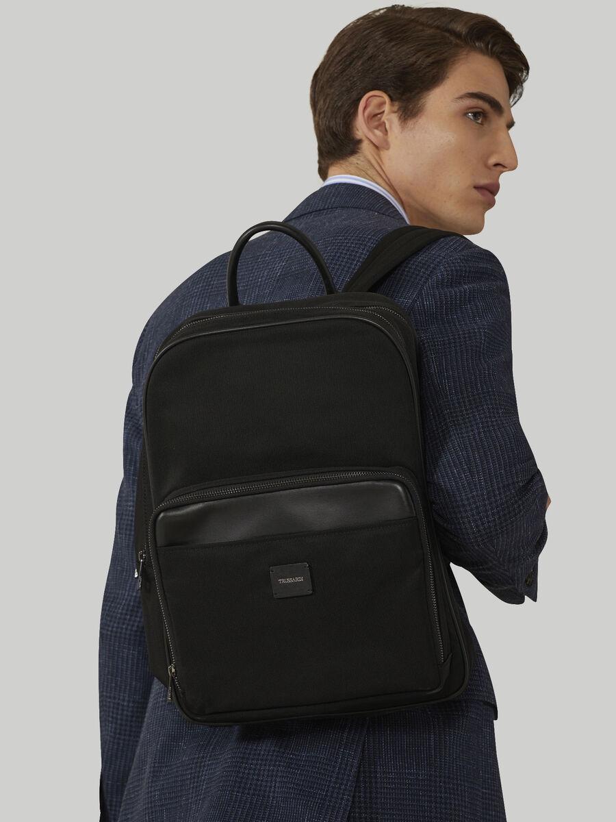 Technical nylon backpack