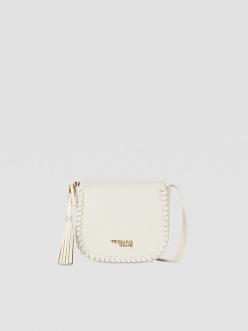 Cross-body Amanda small in similpelle liscia
