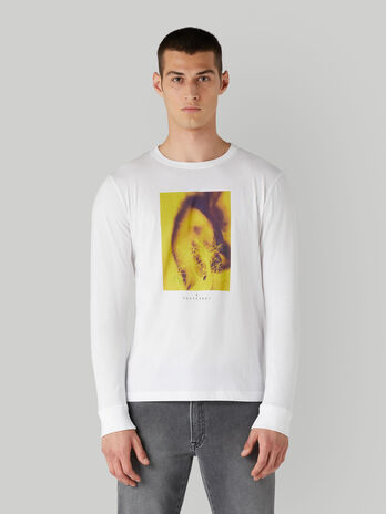 Langarm-T-Shirt im Regular-Fit aus Baumwolle