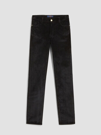 Skinny stretch corduroy 105 trousers