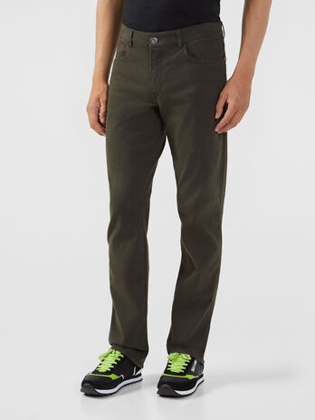 Stretch gabardine 380 Icon trousers