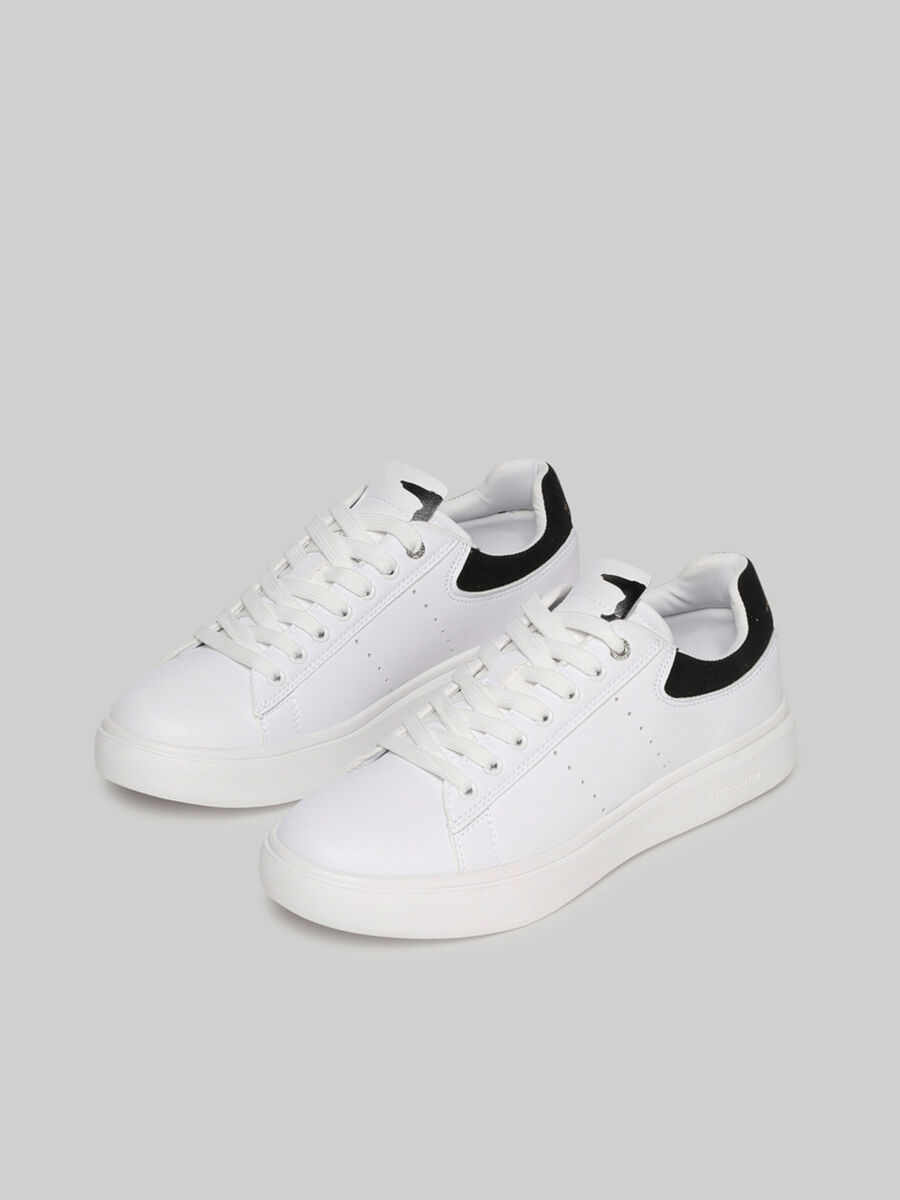Faux leather Yrias sneakers
