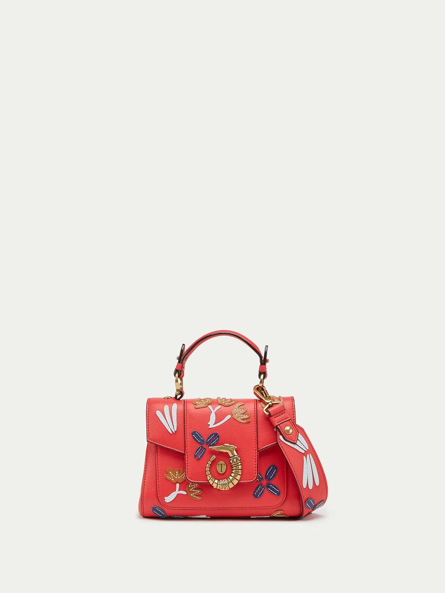 Lovy Bag mini de piel de becerro Velvet