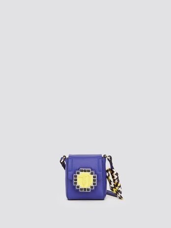 Bluebell crossbody bag with mosaic logo