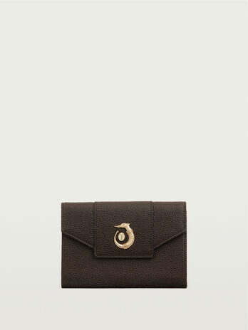 Medium leather continental wallet