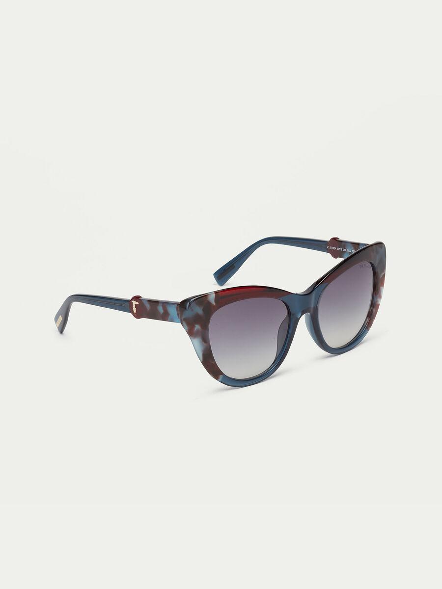 Tortoiseshell sunglasses with gradient lenses