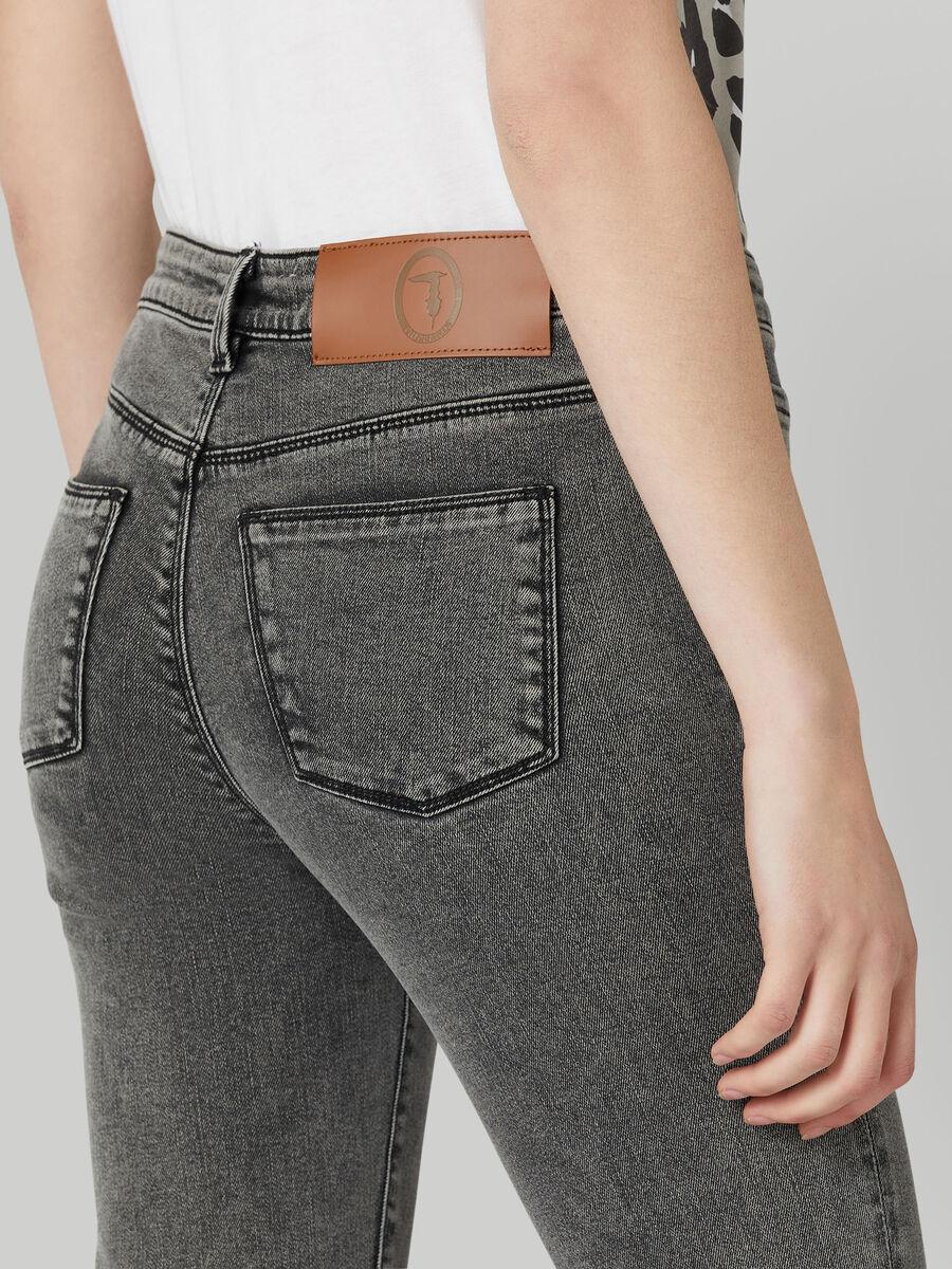 Jean 206 super skinny en denim marbled