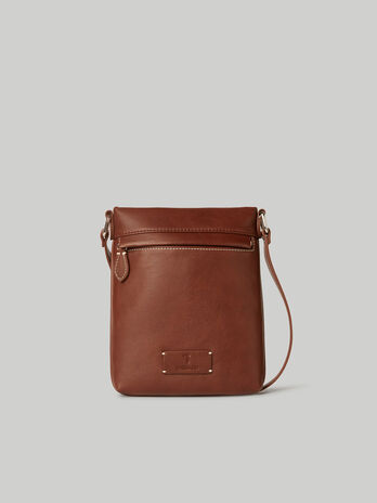 Small Leisure crossbody bag in faux leather
