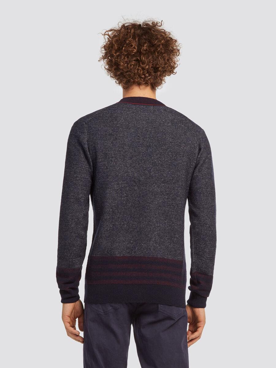 Regular Fit Pullover im Vanise Strick aus Wollmix