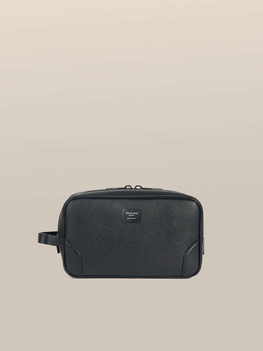 Large Business toiletry bag in Crespo leather