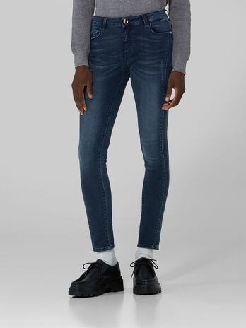 Super skinny 206 jeans in Marine denim