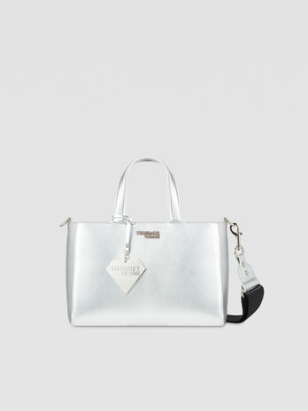 Tote Bag T-Easy Diamond Medium aus Kunstleder