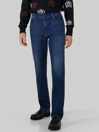 Jeans 380 Icon aus Slub-Denim