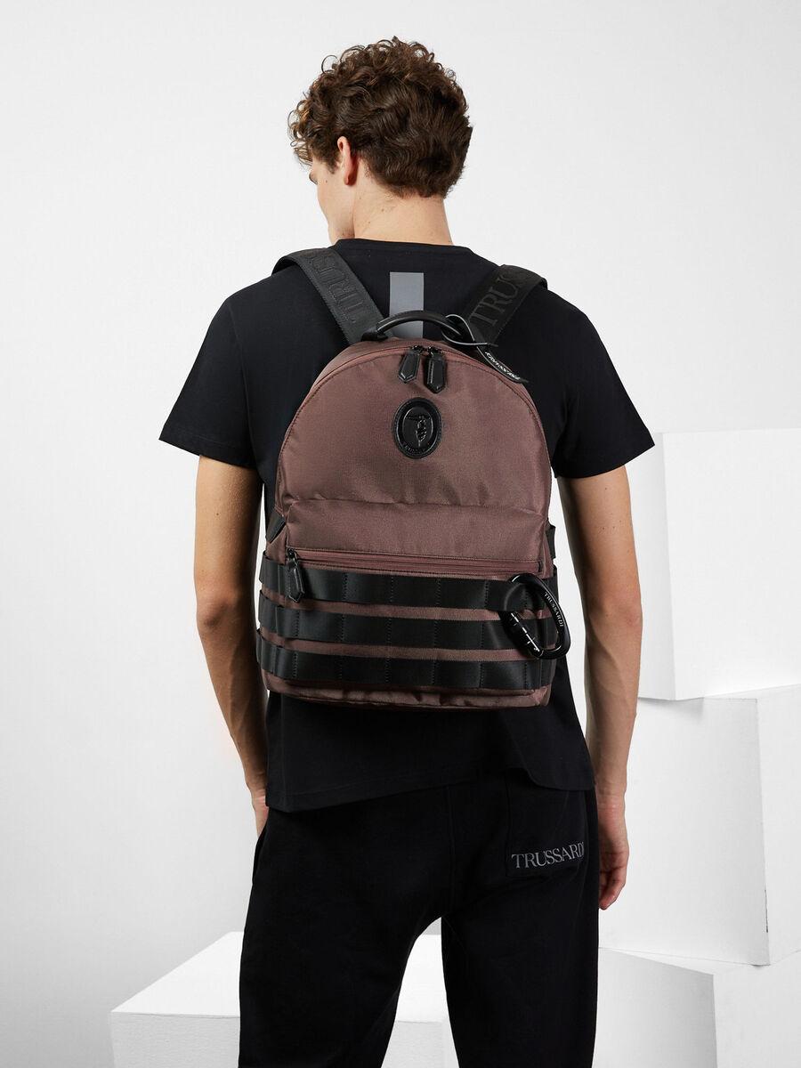 Trussardi Panda Capsule Collection backpack